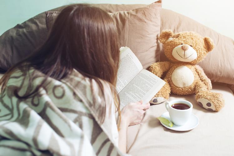 睡眠,読書