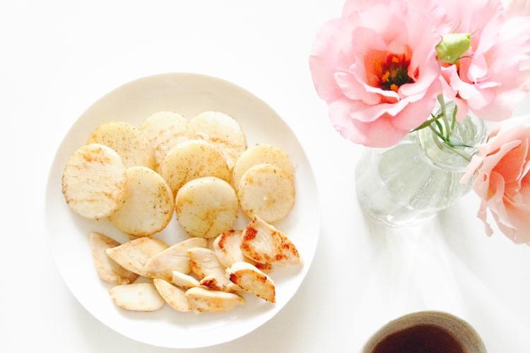 【レシピ付き】疲れて元気がない時にぴったり!超簡単!山芋ステーキ!